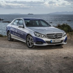 E-Class Hybrid covers 1,223 miles on one tank of fuel