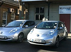 eConnect Cars take 14 silent Nissan Leaf's to Chauffeur clients