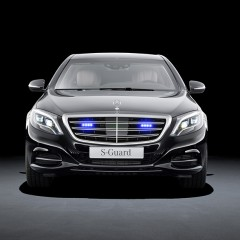 Mercedes reveals fully armoured S600 Guard model