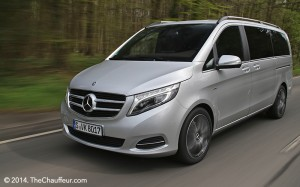 Mercedes V-Class Confirmed for London Industry Trade Event