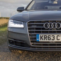 Real world test for Audi Matrix LED headlight system