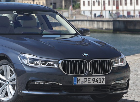 Industry First Drive. New BMW 7-Series for 2015