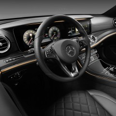 Mercedes-Benz gives a glimpse into new E-Class interior