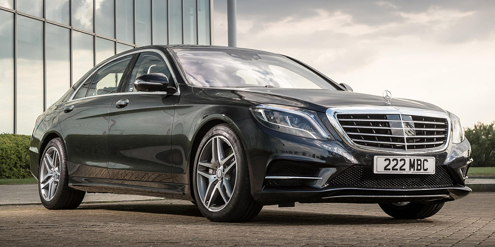 Top Five competitors to the S-Class