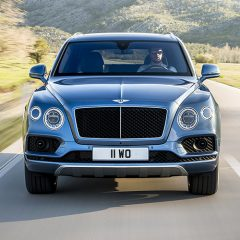First diesel chauffeur car from Bentley