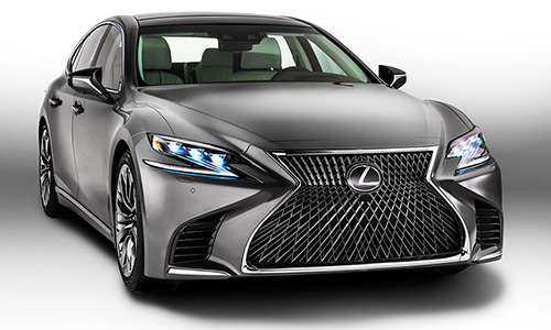 Lexus reveals 2018 LS limousine at Detroit