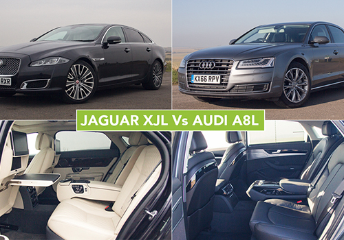 Chauffeurs Choice: Jaguar XJL Vs Audi A8L