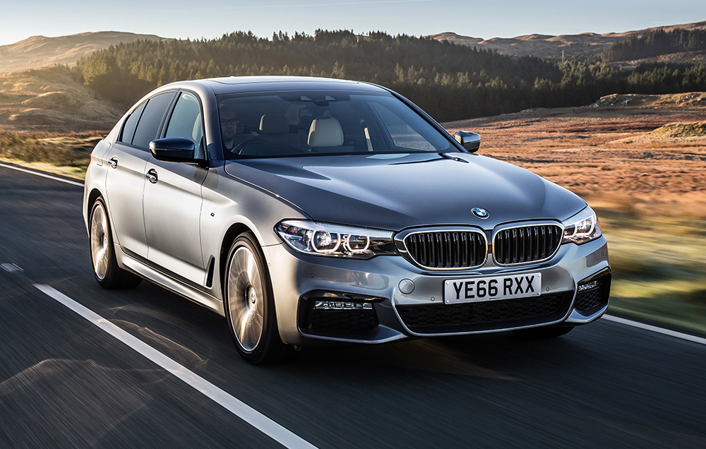 BMW announces 5-Series LWB for Chinese market