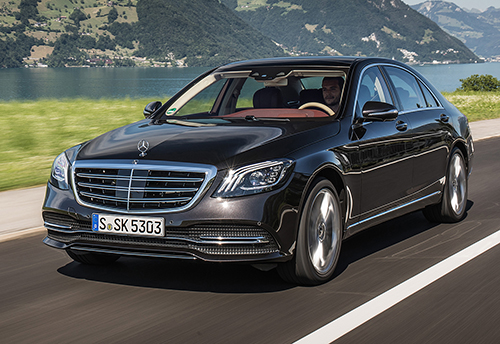 New Face of 2018 Mercedes S-Class revealed