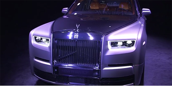 Breaking: All-New Rolls-Royce Phantom unveiled