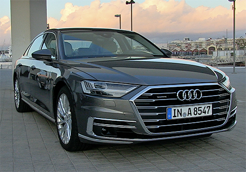 First Drive: 2018 Audi A8 driven